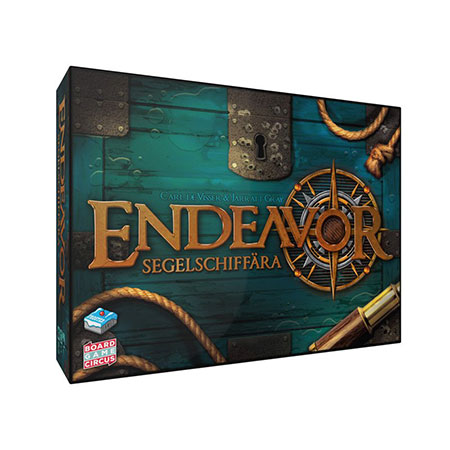 Endeavor - Segelschiffära 2nd Edition