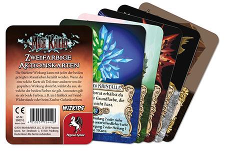 Mage Knight: Zweifarbige Aktionskarten Upgrade