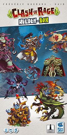 Clash of Rage - Helden Box Erweiterung