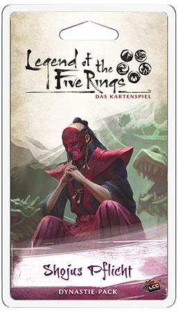 Legend of the 5 Rings - Shojus Pflicht Dynastie-Pack (Erbfolge 6)