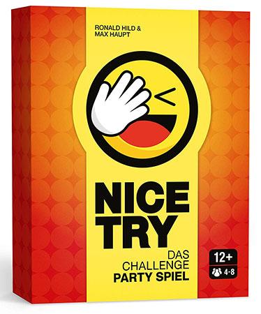 Nice Try - Das Challenge-Partyspiel