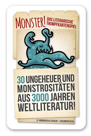 Monster! – Das literarische Trumpfkartenspiel
