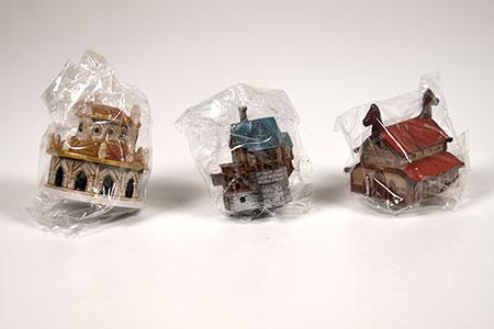 12 Realms - Buildings Pack - Bemalten Miniaturen