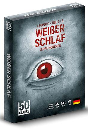 50 Clues - Weißer Schlaf (Leopold - Teil 2/3)