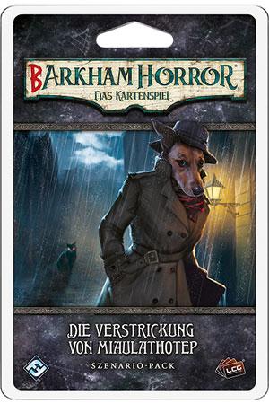 Barkham Horror - Das Kartenspiel - Die Verstrickung des Miaulathotep Szenario-Pack