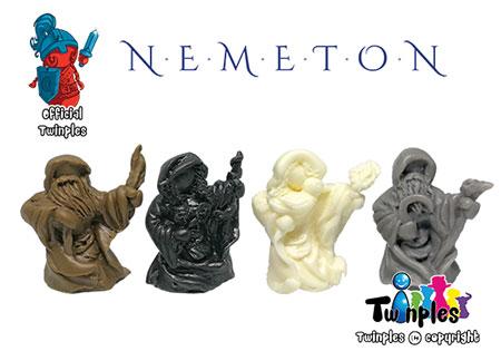 Nemeton - 3D Druiden Twinples (Miniaturen)