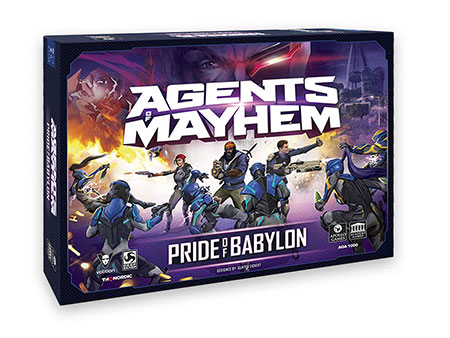 Agents of Mayhem: Pride of Babylon (Europe) (engl.)