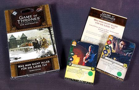 Der Eiserne Thron - Das Kartenspiel 2. Edition - Was man nicht alles für die Liebe tut Erweiterung