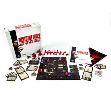 Resident Evil 2 - Das Brettspiel (engl.)