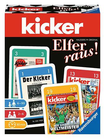Elfer raus! - Kicker