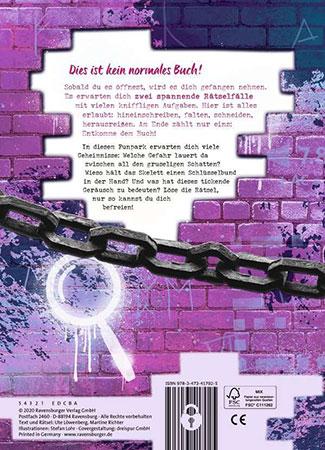 Exit Room Buch - Gefangen im Funpark