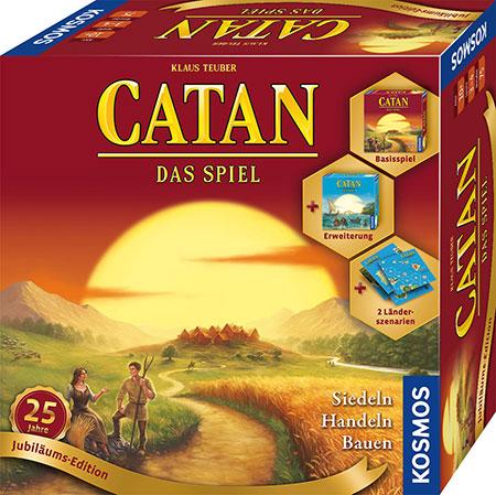 Catan - Das Spiel - 25 Jahre Jubiläums-Edition