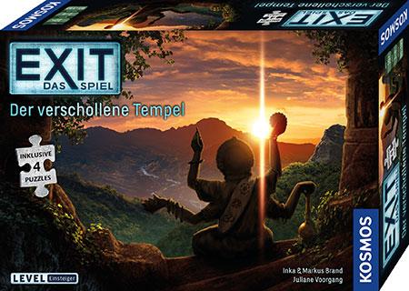 EXIT - Das Spiel - Der verschollene Tempel (inkl. Puzzle)