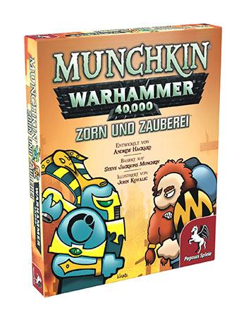 Munchkin Warhammer 40.000 - Zorn und Zauberei Erweiterung