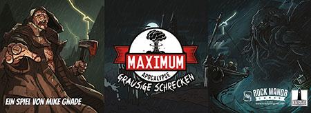 Maximum Apocalypse - Grausige Schrecken Erweiterung