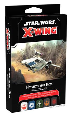 Star Wars: X-Wing 2.Edition - Draufgänger und Fliegerasse Erweiterungspack