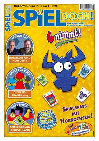 Spiel Doch! - Magazin 02/2019 inkl. Schnupperspiel von 6 Nimmt!