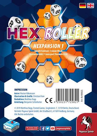 Hex Roller - Hexpansion 1 Erweiterung