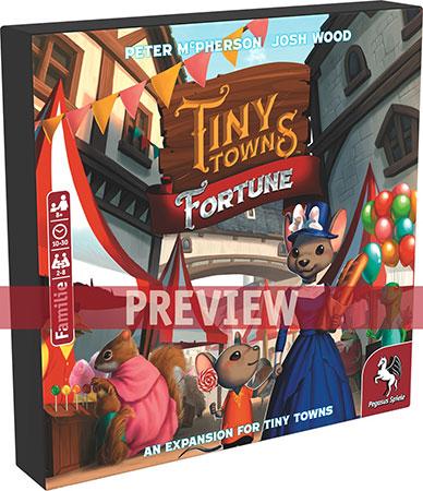 Tiny Towns - Fortune Erweiterung