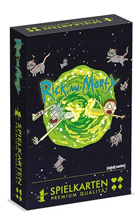 Number 1 Spielkarten - Rick & Morty