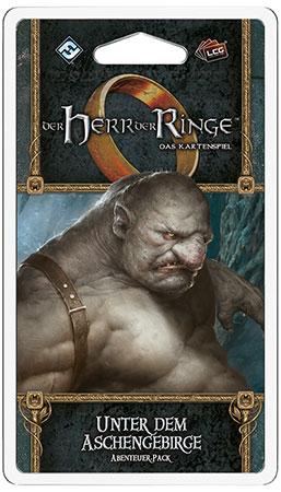 Der Herr der Ringe - Das Kartenspiel: Unter dem Aschengebirge Abenteuer-Pack (Die Rache Mordors 4)