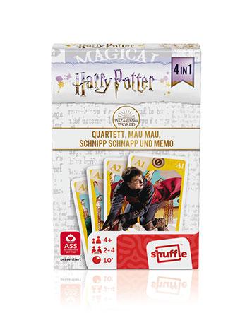 Harry Potter - Quartett 4 in 1