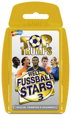 TOP TRUMPS Weltfußball Stars 3