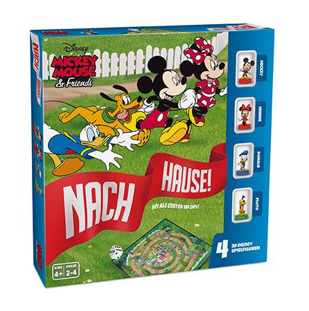 Disney Mickey & Friends - Nach Hause/ Gänsespiel