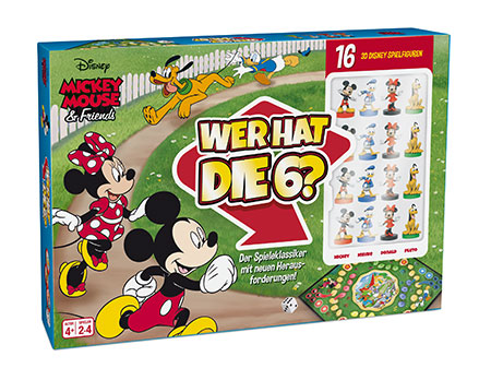 Disney Mickey & Friends - Wer hat die 6?