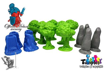Nemeton - 3D Deluxe Upgrade Material (Miniaturen)