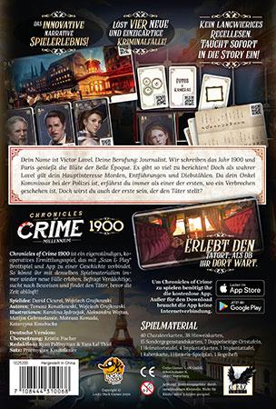 Chronicles of Crime - Millennium 1900