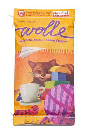 Wolle - Würfeln, Malen, Faden fangen (MINNY)