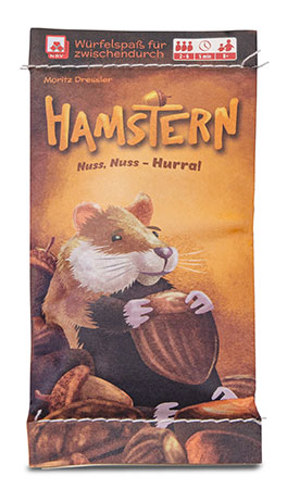 Hamstern - Nuss, Nuss-Hurra (MINNY)