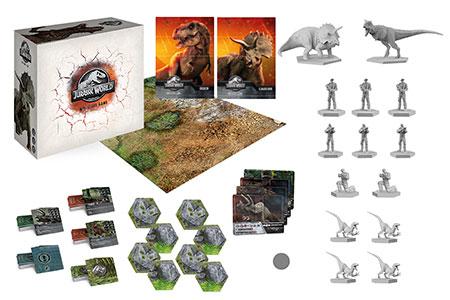 Jurassic World - Das Miniaturen-Spiel (dt.)