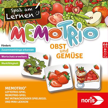 MemoTrio - Obst und Gemüse
