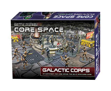 Battle Systems - Core Space - Galactic Corps Erweiterung (engl.)