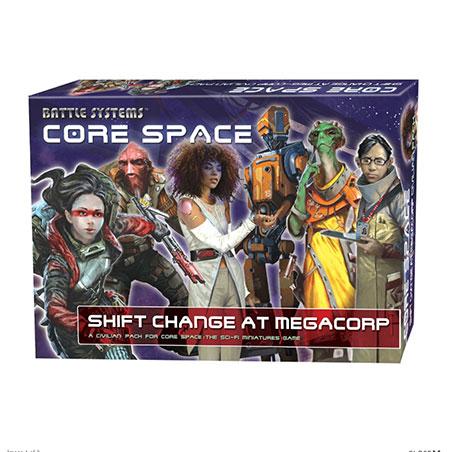 Battle Systems - Core Space - Schichtwechsel bei MegaCorp Erweiterung (engl.)