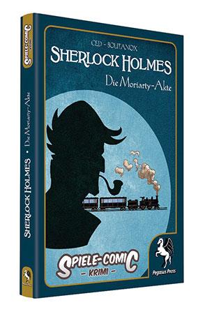 Spiele-Comic Krimi: Sherlock Holmes - Die Moriarty-Akte