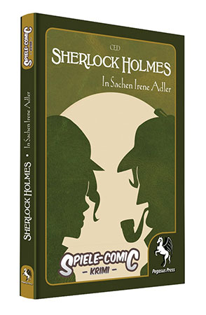 Spiele-Comic Krimi: Sherlock Holmes - In Sachen Irene Adler
