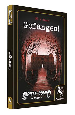 Spiele-Comic Noir: Gefangen!