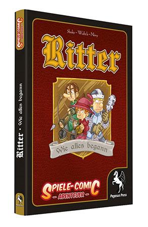 Spiele-Comic Abenteuer: Ritter - Wie alles begann