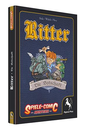 Spiele-Comic Abenteuer: Ritter - Die Botschaft