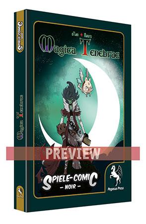 Spiele-Comic Noir: Magica Tenebrae