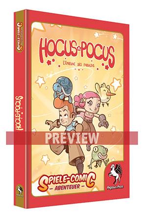 Spiele-Comic Abenteuer: Hocus Pocus