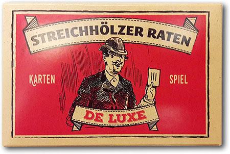 Streichhölzer Raten De Luxe - Das Hamburger Kultspiel