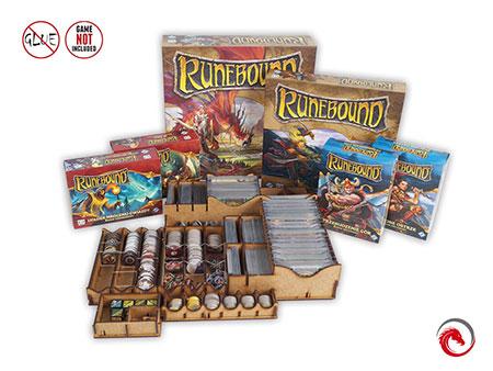 e-raptor - Sortiereinsatz für Runebound und fünf Erweiterungen