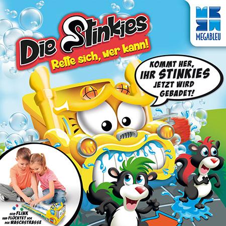 Die Stinkies - Rette sich wer kann!