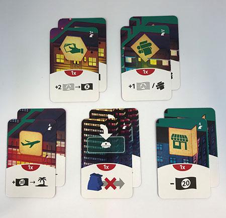 Counterfeiters - Action Improvements Kartenpack