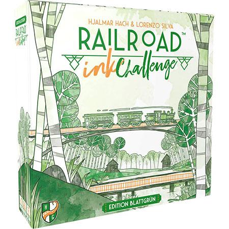 Railroad Ink - Challenge: Edition Blattgrün
