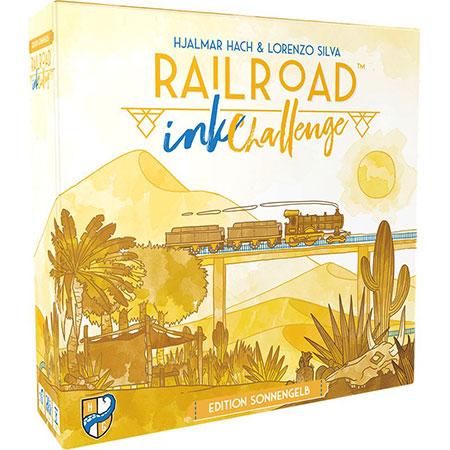 Railroad Ink - Challenge: Edition Sonnengelb